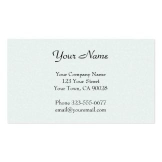 Pastel Green texture Double-Sided Standard Business Cards (Pack Of 100)