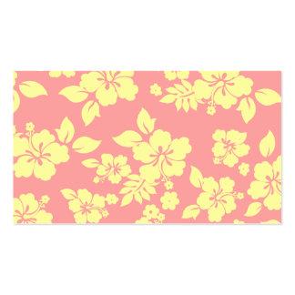 Pastel Hawaiian Business Card