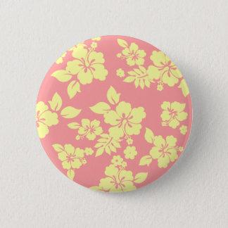 Pastel Hawaiian Button