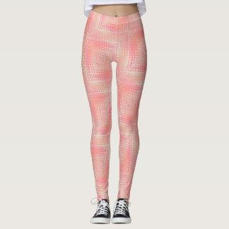 Pastel Haze Pink Peach Leggings ★Psydefx★