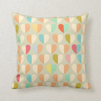 Pastel Heart Pillow