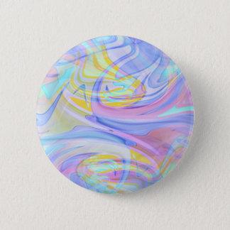 pastel hologram button