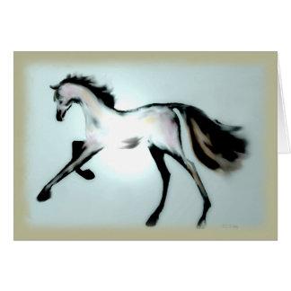 """Pastel Horse"" ~ Greeting Card (blank)"