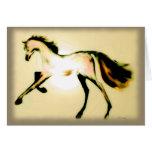 """Pastel Horse"" ~ Holiday Greeting Card"