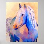 Pastel Horse Print