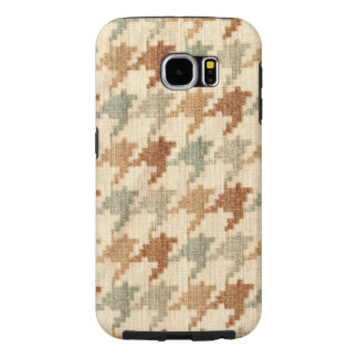 Pastel Houndstooth Scottish Hounds Tooth Check Samsung Galaxy S6 Case