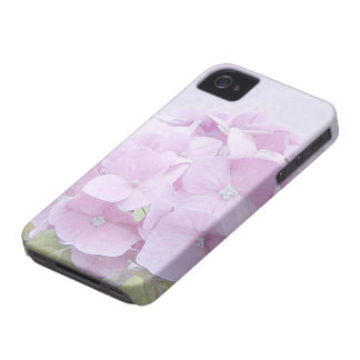 Pastel Hydrangea Flowers iPhone 4 Case