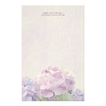 Pastel Hydrangeas Stationery