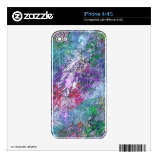 PASTEL IMPRESSION DECAL FOR iPhone 4