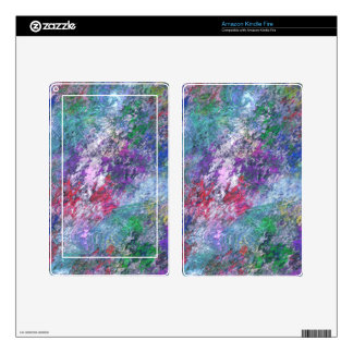 PASTEL IMPRESSION KINDLE FIRE DECAL