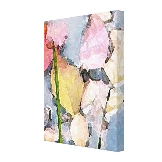 Pastel Impressions wrappedcanvas