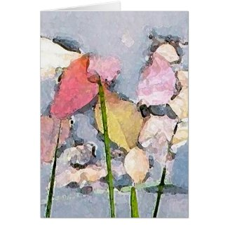 Pastel Impressions Mother's Day Card
