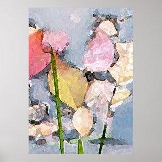Pastel Impressions Print