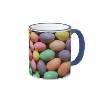 Pastel Jelly Beans 2 Ringer Mug