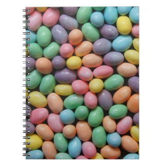 Pastel Jelly Beans Notebook
