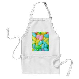 Pastel Jellybeans Adult Apron