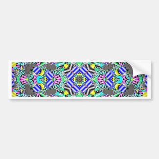 Pastel Kaleidescope Bumper Sticker