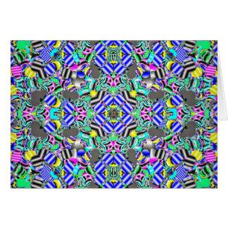 Pastel Kaleidescope Card