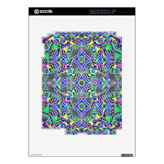 Pastel Kaleidescope Skin For iPad 2