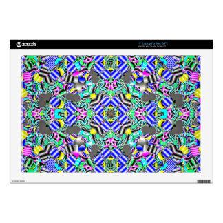 Pastel Kaleidescope Skins For Laptops