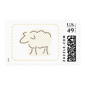 Pastel Lamb Postage