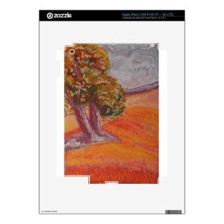 Pastel Landscape iPad 3 Decals