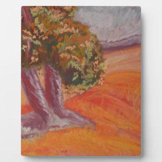 Pastel Landscape Plaque