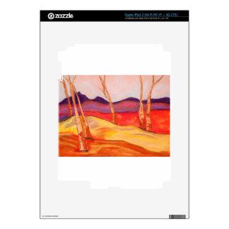 Pastel Landscape Skins For iPad 3