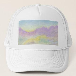 Pastel Landscape Trucker Hat