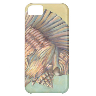 Pastel Large Conch Shell Case For iPhone 5C