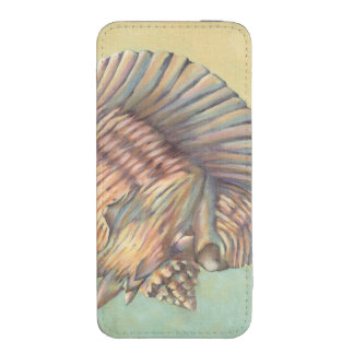 Pastel Large Conch Shell iPhone 5 Pouch