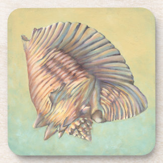 Pastel Large Conch Shell Coaster