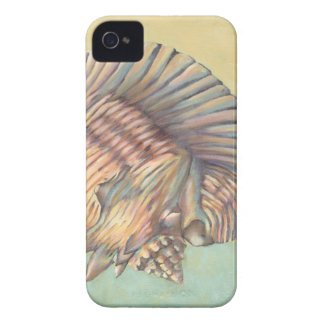 Pastel Large Conch Shell iPhone 4 Cover
