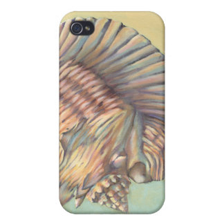 Pastel Large Conch Shell iPhone 4/4S Covers