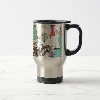 Pastel LBI Love Collage Stainless Steel Travel Mug