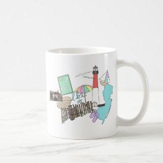Pastel LBI Love Collage Basic White Mug