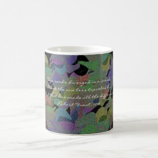 Pastel Leaves in the Fall Classic White Coffee Mug