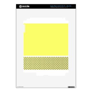 Pastel Lemon Lovers iPad 3 Decals