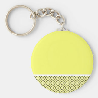 Pastel Lemon Lovers Keychain