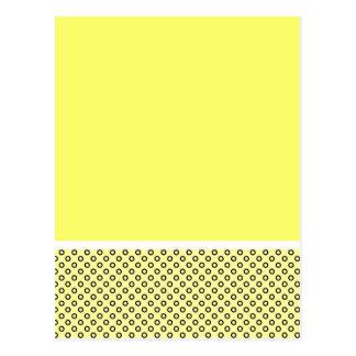 Pastel Lemon Lovers Postcard