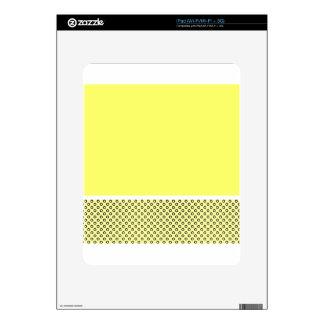 Pastel Lemon Lovers Skin For The iPad