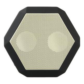 Pastel Lemon Yellow Pale Soft Meringue Yellow Black Bluetooth Speaker