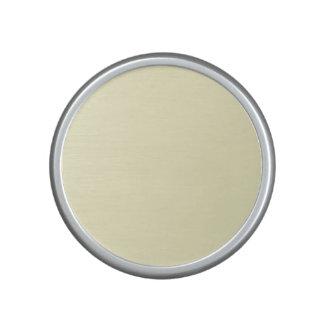 Pastel Lemon Yellow Pale Soft Meringue Yellow Speaker