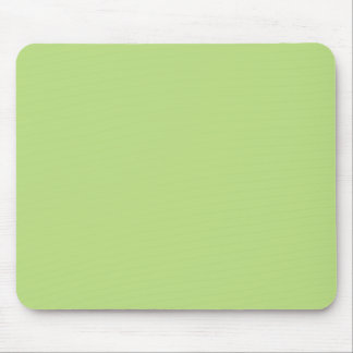 Pastel Light Green Personalized Color Background Mouse Pad