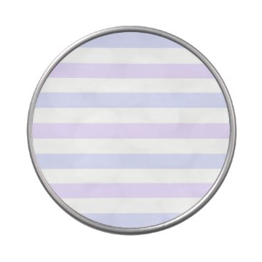 Beach Themed Pastel Lilac, Blue and White Stripes Candy Tins
