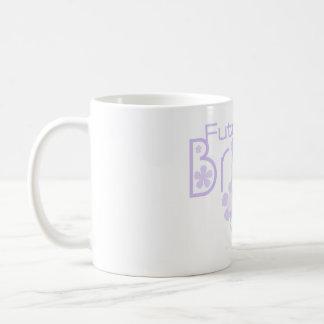 Pastel Lilac Flowers Future Bride Classic White Coffee Mug
