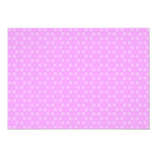 Pastel Lilac Purple White Star Repeating Pattern Card