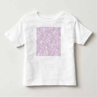 Pastel Lilac Spring Paisely Toddler T-shirt