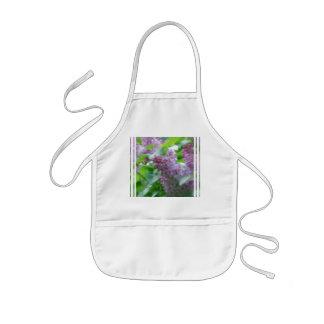 Pastel Lilacs Kids' Apron