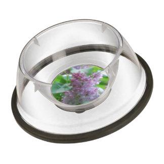 Pastel Lilacs Pet Bowl
